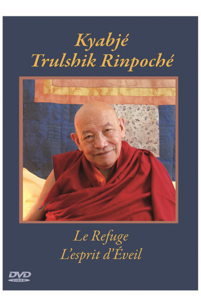 DVD -  Kyabjé Trulshik Rinpoché Refuge esprit d'Eveil