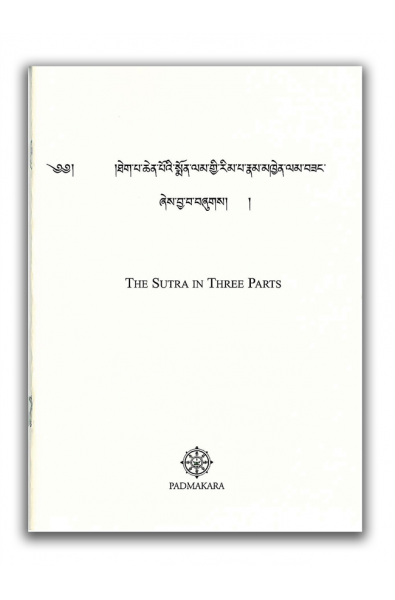 Sutra in Three Parts