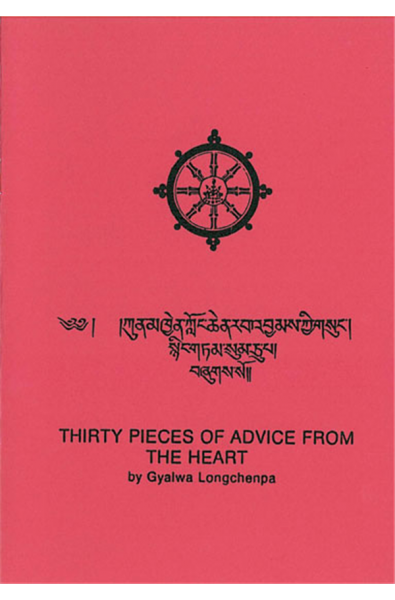 Thirty Pieces of Advice