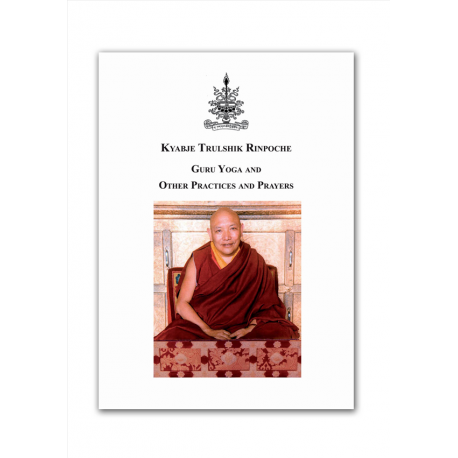 Kyabje Trulshik Rinpoche Guru Yoga and other practices (Eng)
