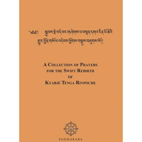 Collection of Prayers for the Swift Rebirth of Tenga Rinpoche