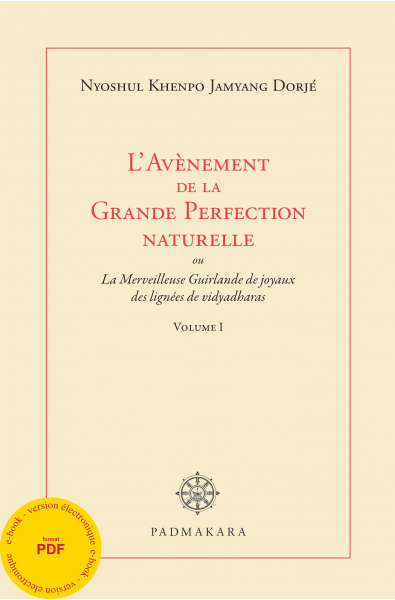 Avènement de la Grande Perfection naturelle Vol I - ebook _pdf