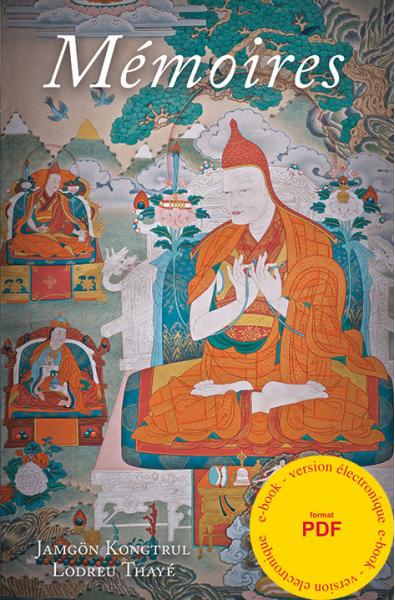 Mémoires - Jamgon Kongtrul - ebook format pdf